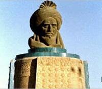 مجسمة متخيلة لأبي جعفر المنصور بالعراق
