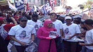 ندي أباريسيدا .. أول امرأة مسلمة ترتدي الحجاب تترشح للبرلمان البرازيلي