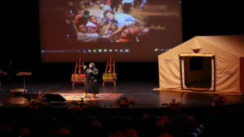 """""""حملة ليان"""" الخليجية تروي حكاية اللجوء السوري, الأزمة السورية, حملة ليان, لاجئين,"""