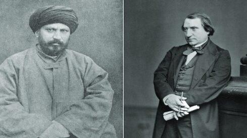 المفكر الفرنسي إرنست رينان والشيخ جمال الدين الأفغاني