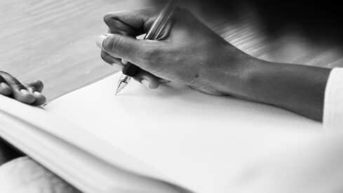 عن الكتابة وأياديها البيضاء!