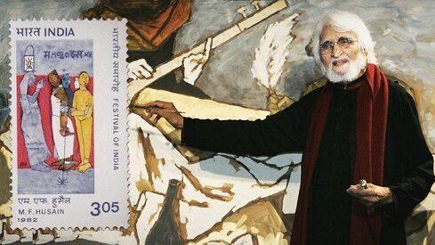 """فنان الهند مقبول حسين يعرض """"عاديات الشمس"""" في الدوحة"""