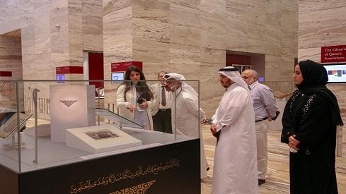 معرض للكعبة المشرفة في مكتبة قطر مع حلول شهر رمضان, الكعبة المشرفة, شهر رمضان, مكتبة قطر الوطنية,