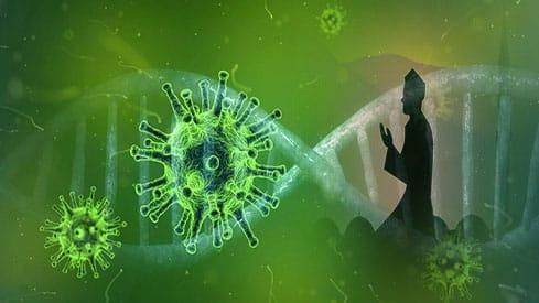 الأوبئة والكوارث بين التفسير العلمي والنظرة الإيمانية, الأوبئة, التفسير العلمي, الكوارث, النظرة الإيمانية, فيروس كورونا,