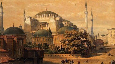 مسجد آيا صوفيا والحكم القضائي