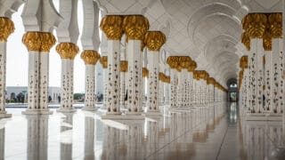أعمدة المسجد النبوي