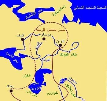 خريطة بحر القزوين