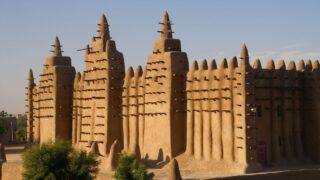 صرح مسجد جيني في مالي