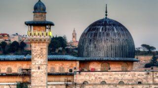 The dome of Al-Aqsa Mosque