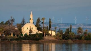 one of the mosques in Cyprus side of Turkey