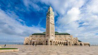 A Moroccan mosque