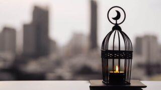 crescent lantern for Ramadan