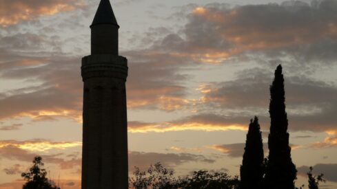 Adhan towers