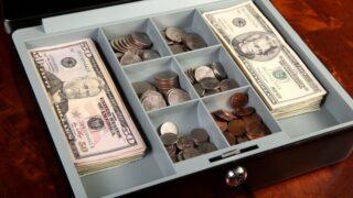 Money kept in suitcase