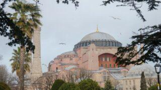 structure of Hagia Sophia